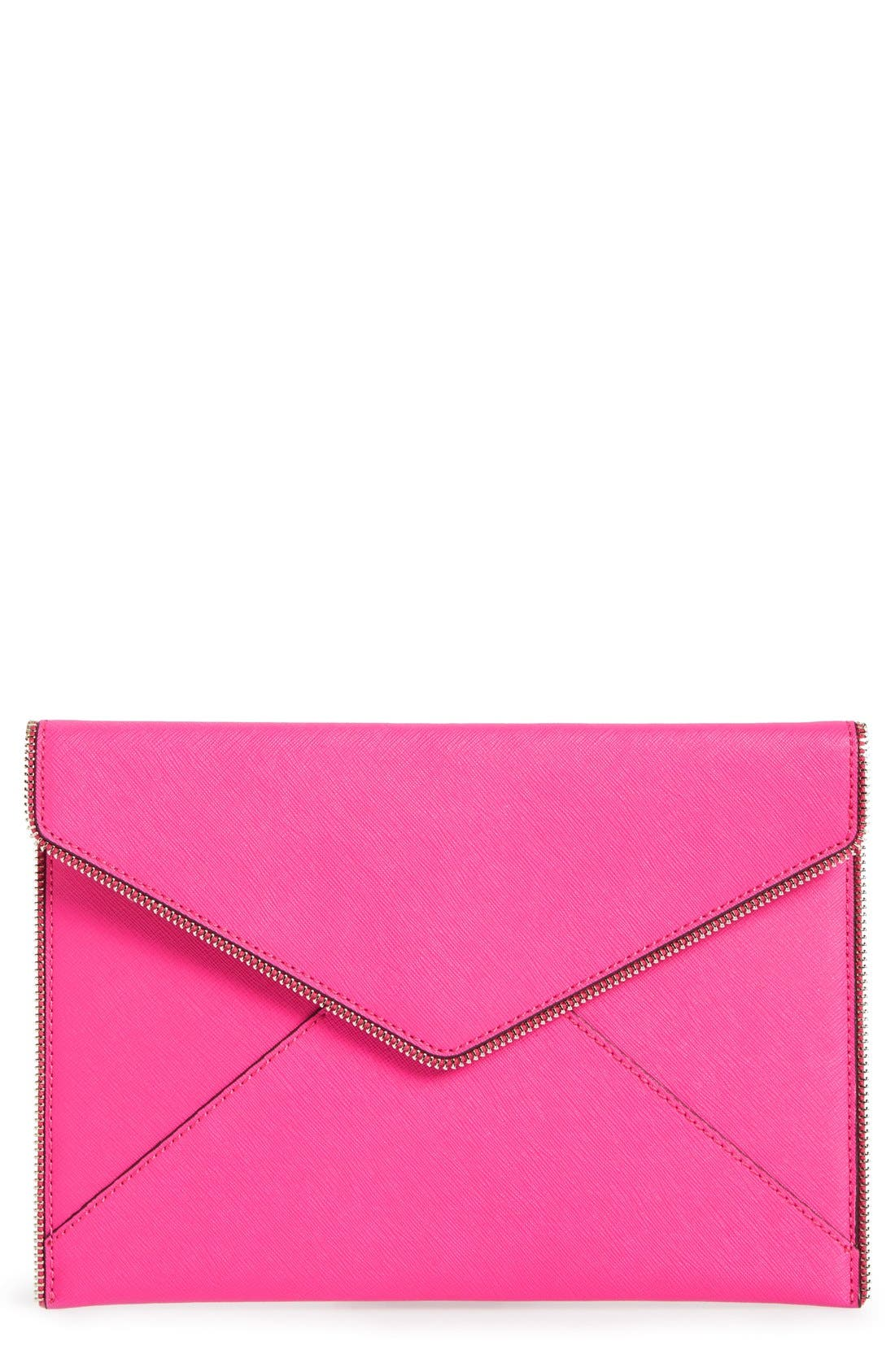 ,                             Leo Envelope Clutch,                             Main thumbnail 277, color,                             657
