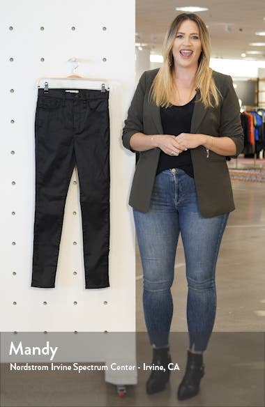 10 Coated Edition High Waist Skinny Jeans, sales video thumbnail