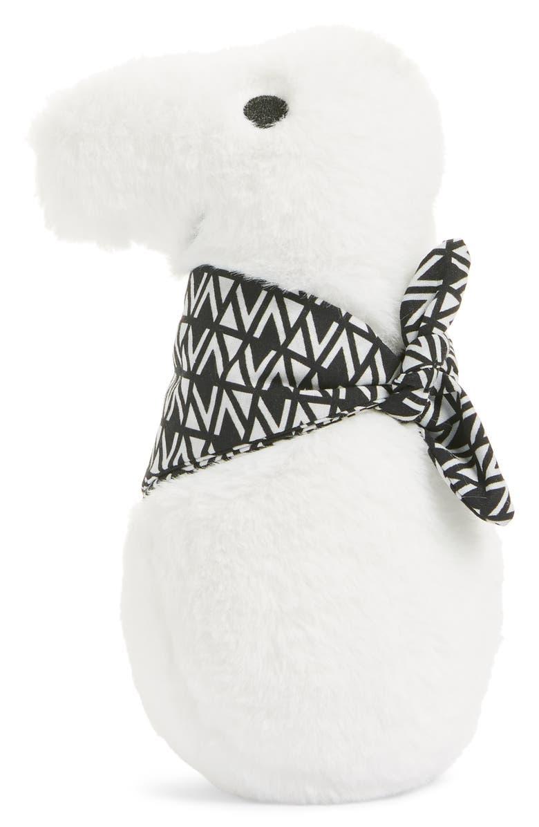 NORDSTROM Nordy Stuffed Faux Fur Souvenir, Main, color, WHITE MULTI