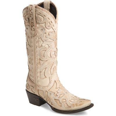 Lane Boots Robin Western Boot, Ivory
