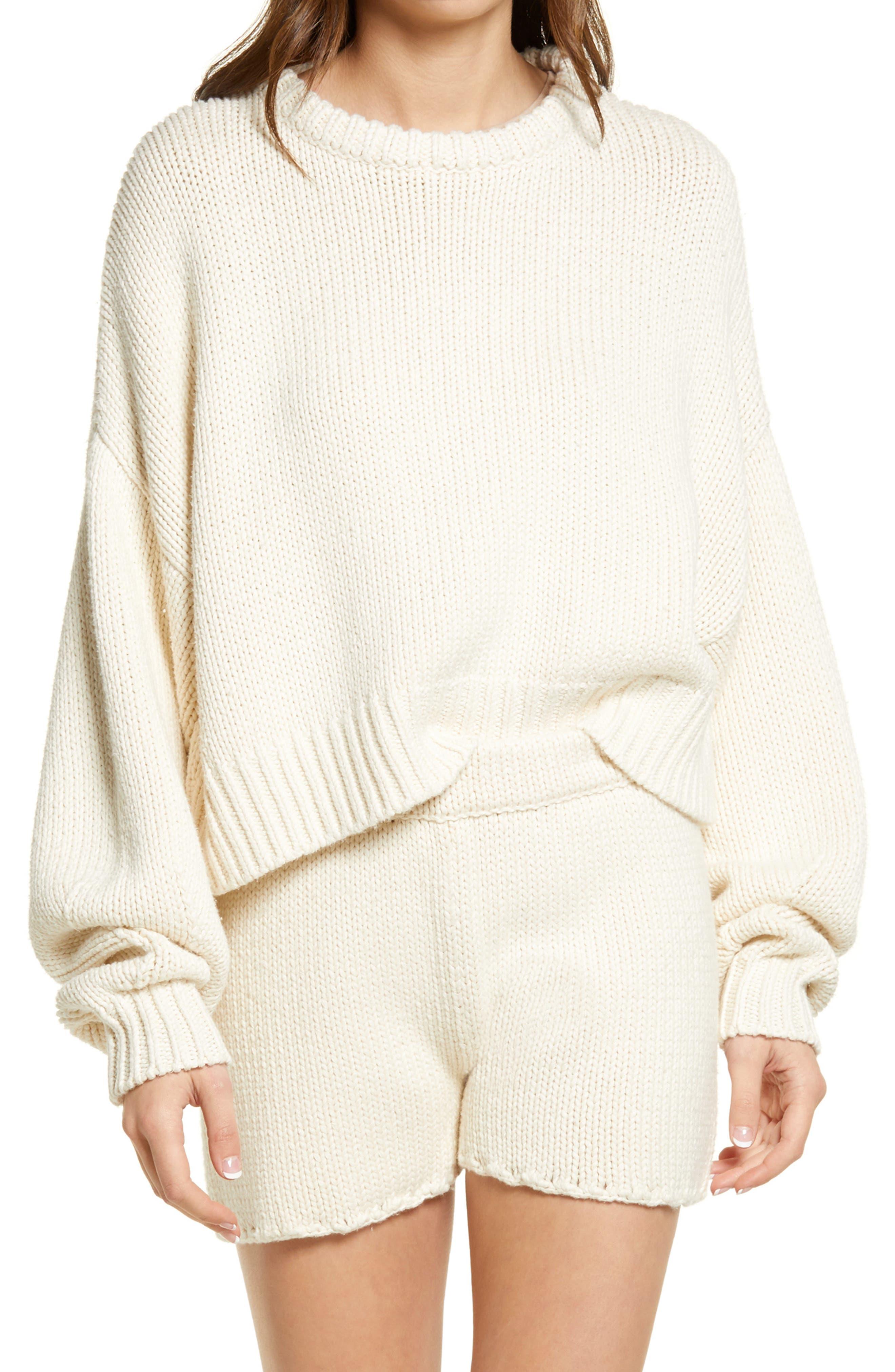 Freeport Organic Cotton & Silk Sweater