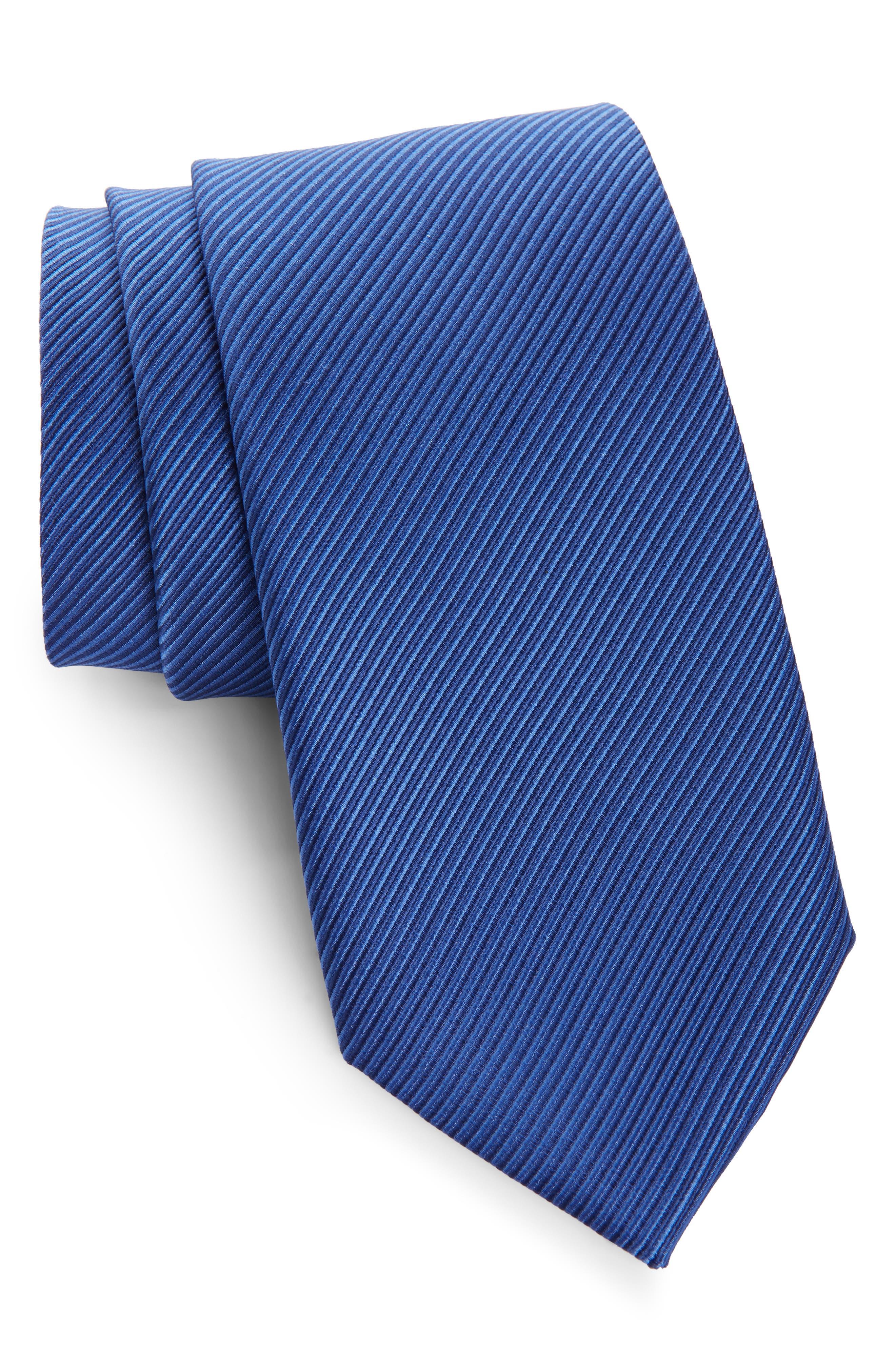 ,                             Stripe Silk Tie,                             Main thumbnail 5, color,                             433