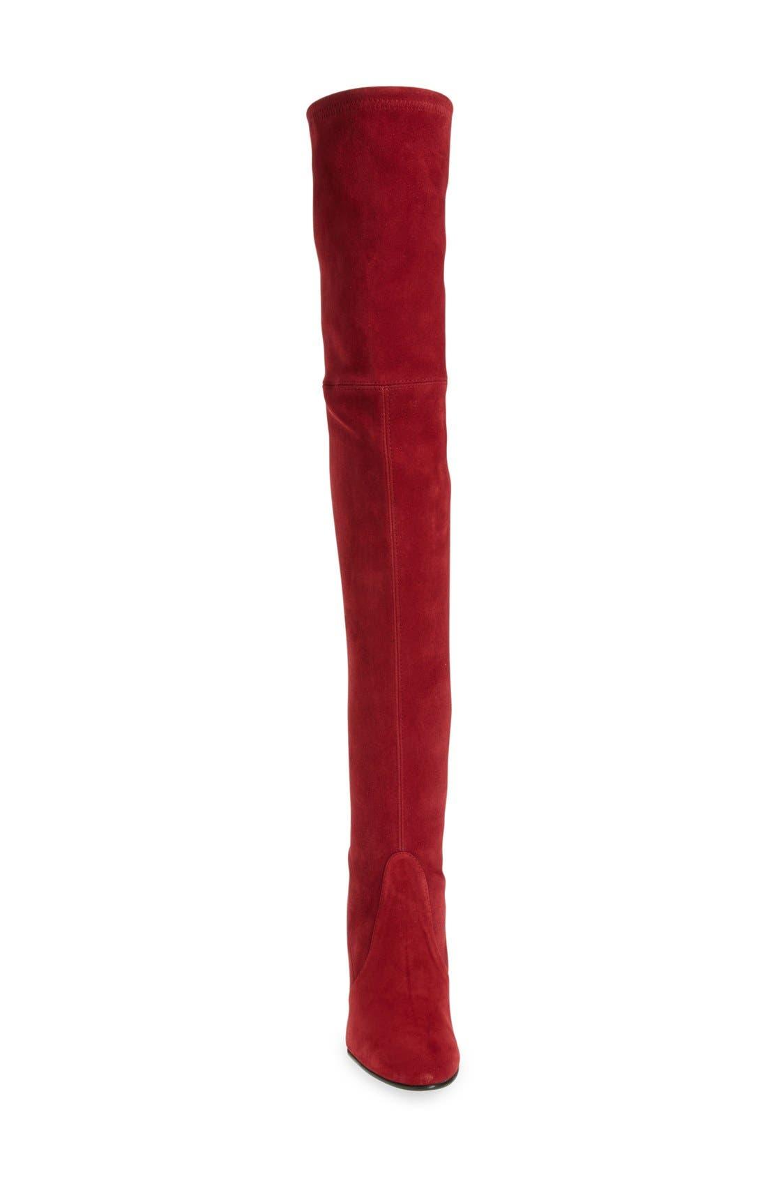 ,                             'Highland' Over the Knee Boot,                             Alternate thumbnail 75, color,                             611