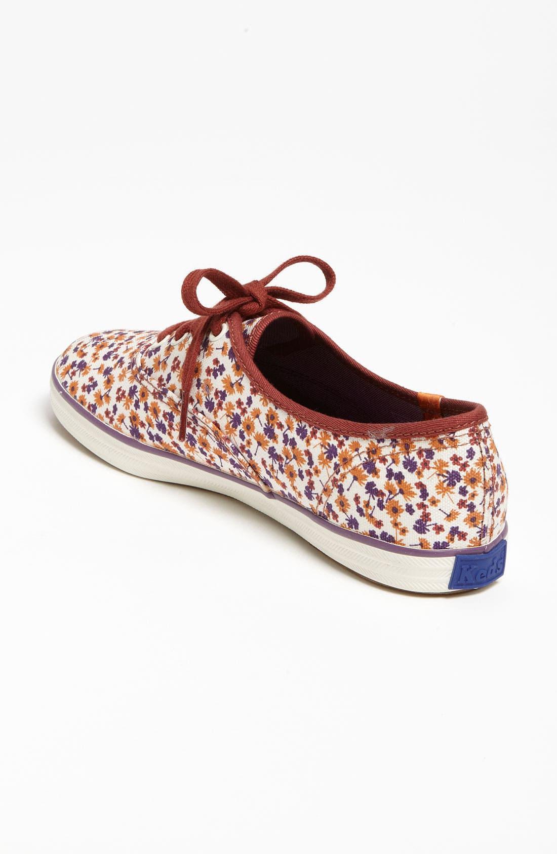 ,                             'Champion - Floral' Sneaker,                             Alternate thumbnail 12, color,                             801