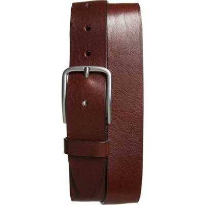 Nordstrom Shop Rhodes Leather Belt, Brown
