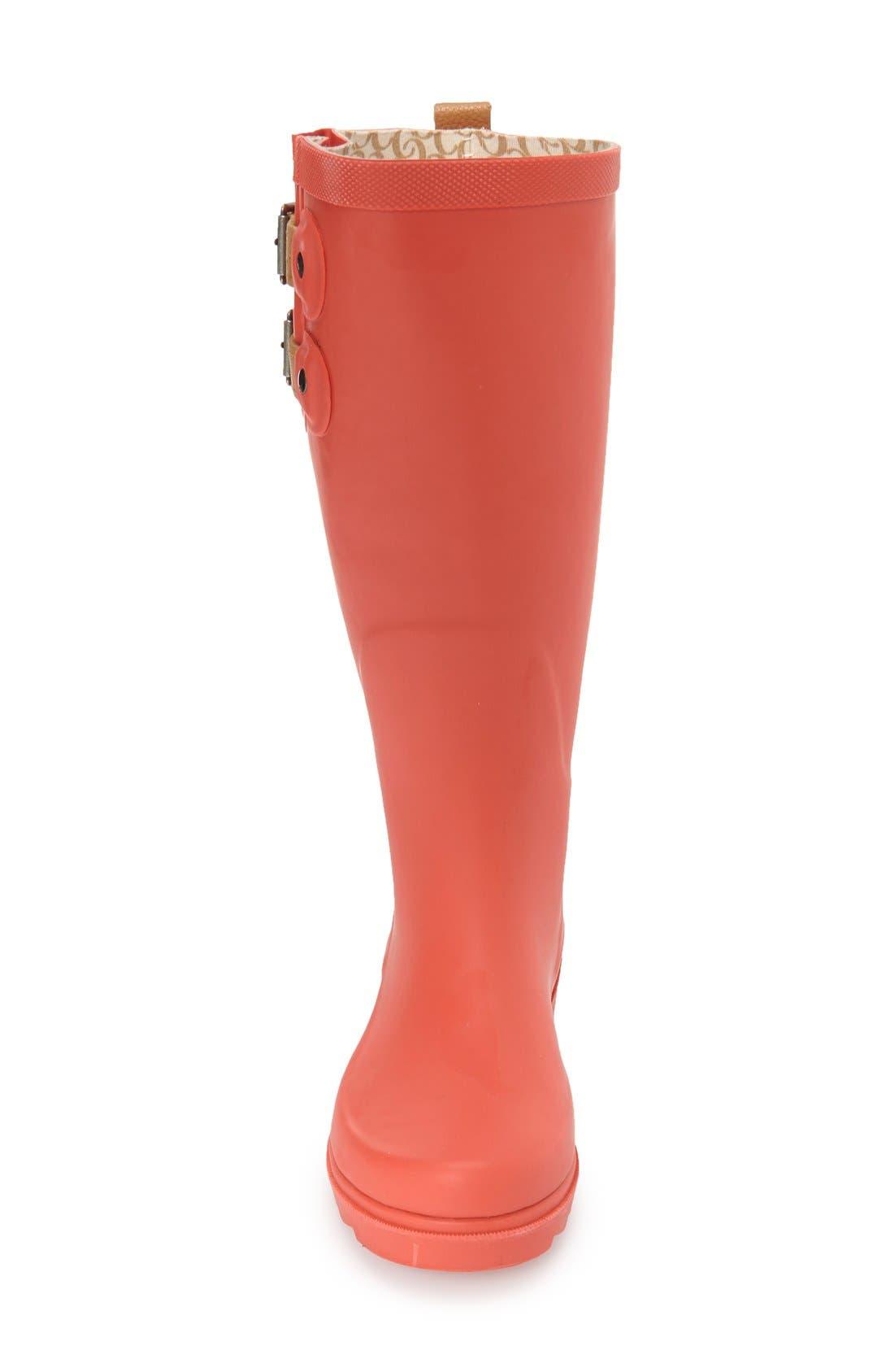 ,                             'Top Solid' Rain Boot,                             Alternate thumbnail 127, color,                             611