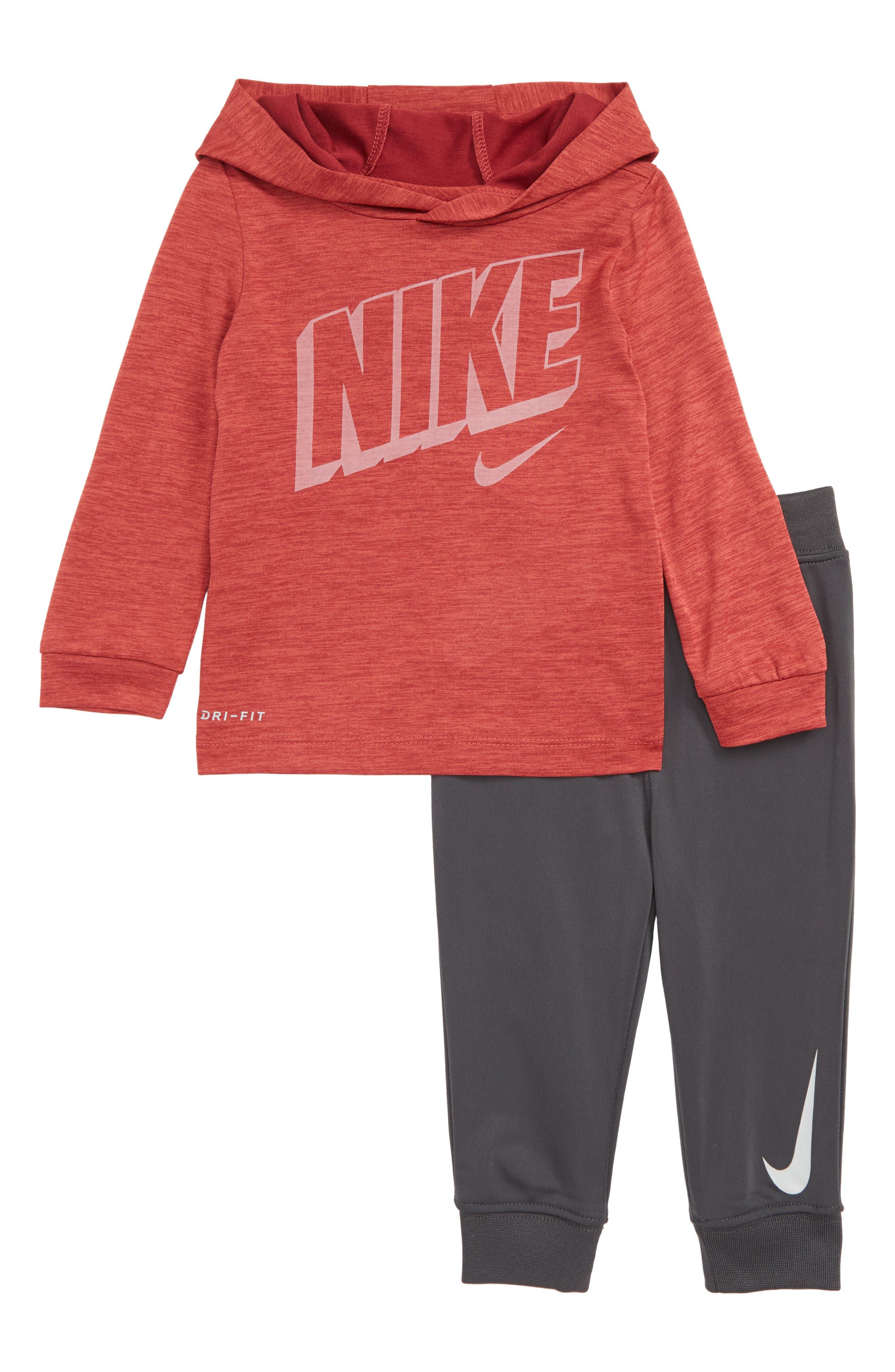Image of Nike Dri-FIT Hoodie & Jogger Pants Set