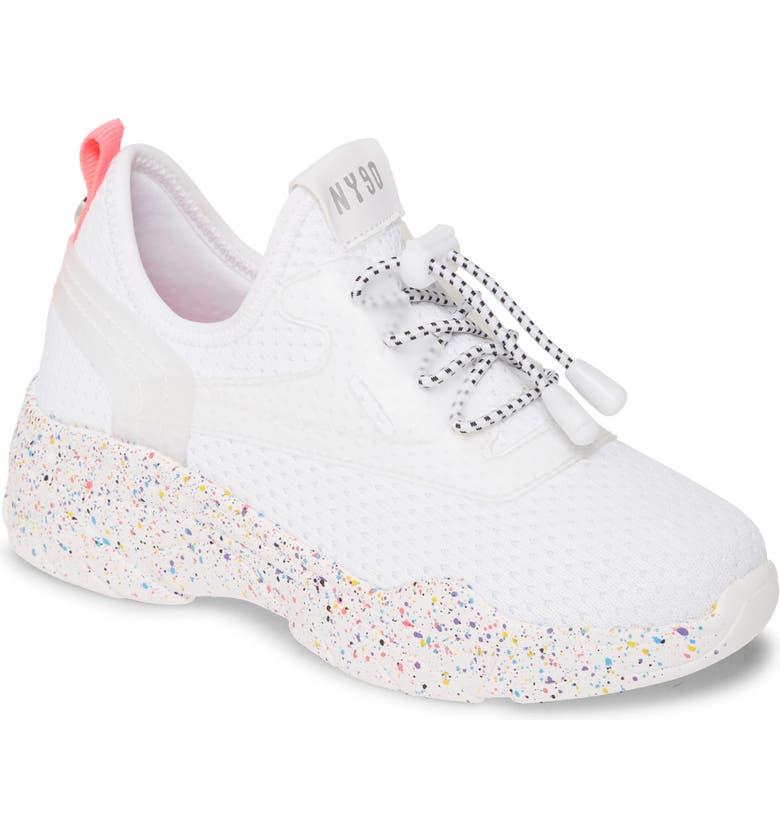 STEVE MADDEN JMyless Sneaker, Main, color, WHITE