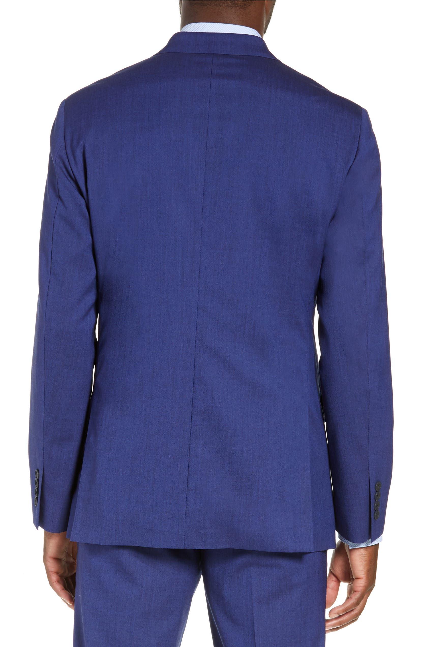 f8ec66c19e8f Nordstrom Men's Shop Tech-Smart Trim Fit Stretch Wool Travel Sport Coat |  Nordstrom