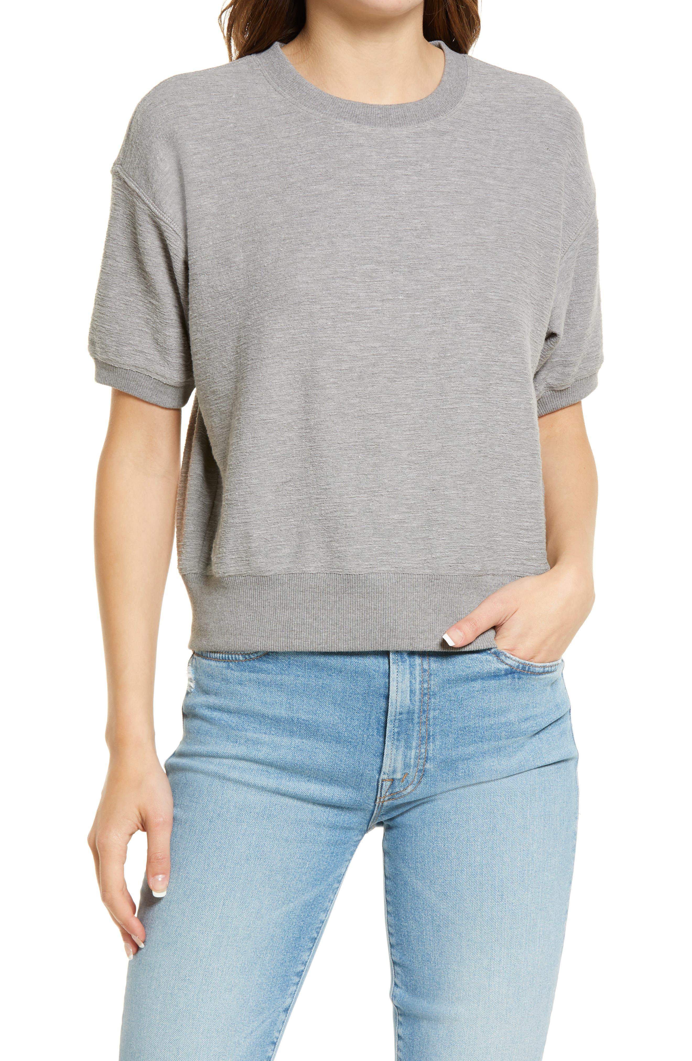 Harmon Slubbed Short Sleeve Top