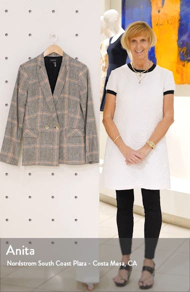 Plaid Linen & Cotton Blazer, sales video thumbnail