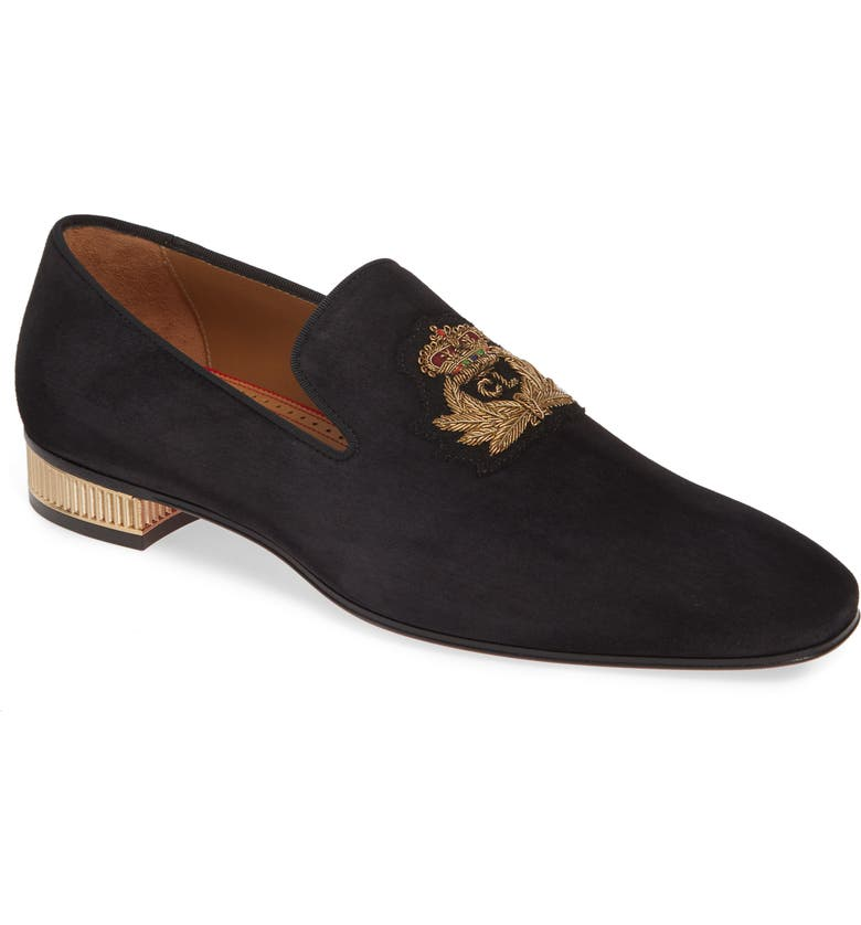 CHRISTIAN LOUBOUTIN Captain Colonnaki Venetian Loafer, Main, color, 009