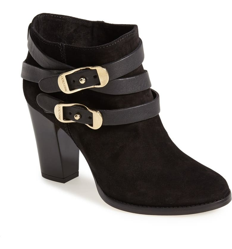 JIMMY CHOO 'Melba' Bootie, Main, color, 001