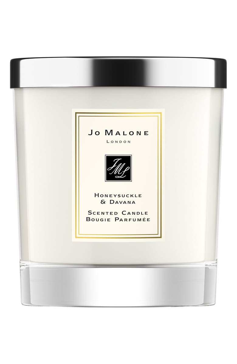 JO MALONE LONDON<SUP>™</SUP> Honeysuckle & Davana Scented Candle, Main, color, NO COLOR
