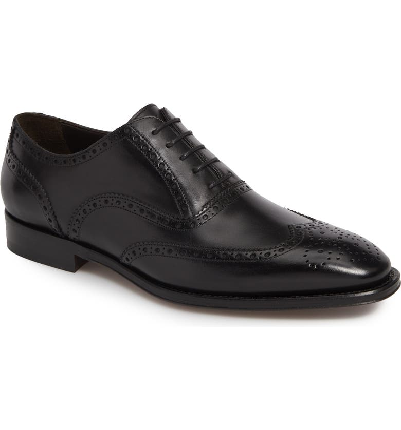 TO BOOT NEW YORK Prospect Wingtip, Main, color, PRAGA NERO LUC