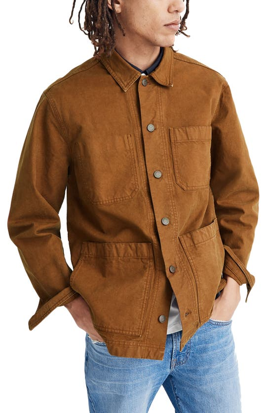 Madewell Cottons CANVAS CHORE JACKET