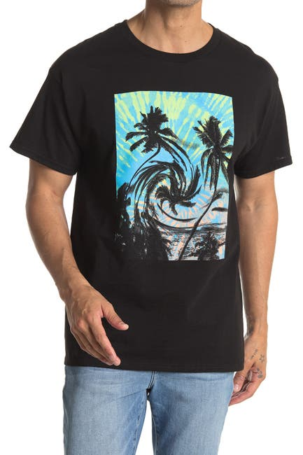 Image of Public Opinion Distorted Palm Graphic T-Shirt