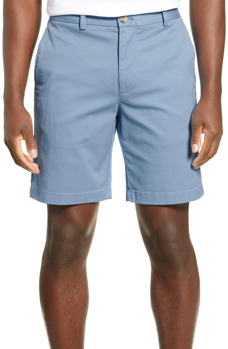 VINEYARD VINES 9 Inch Stretch Breaker Shorts, Main, color, COASTLINE