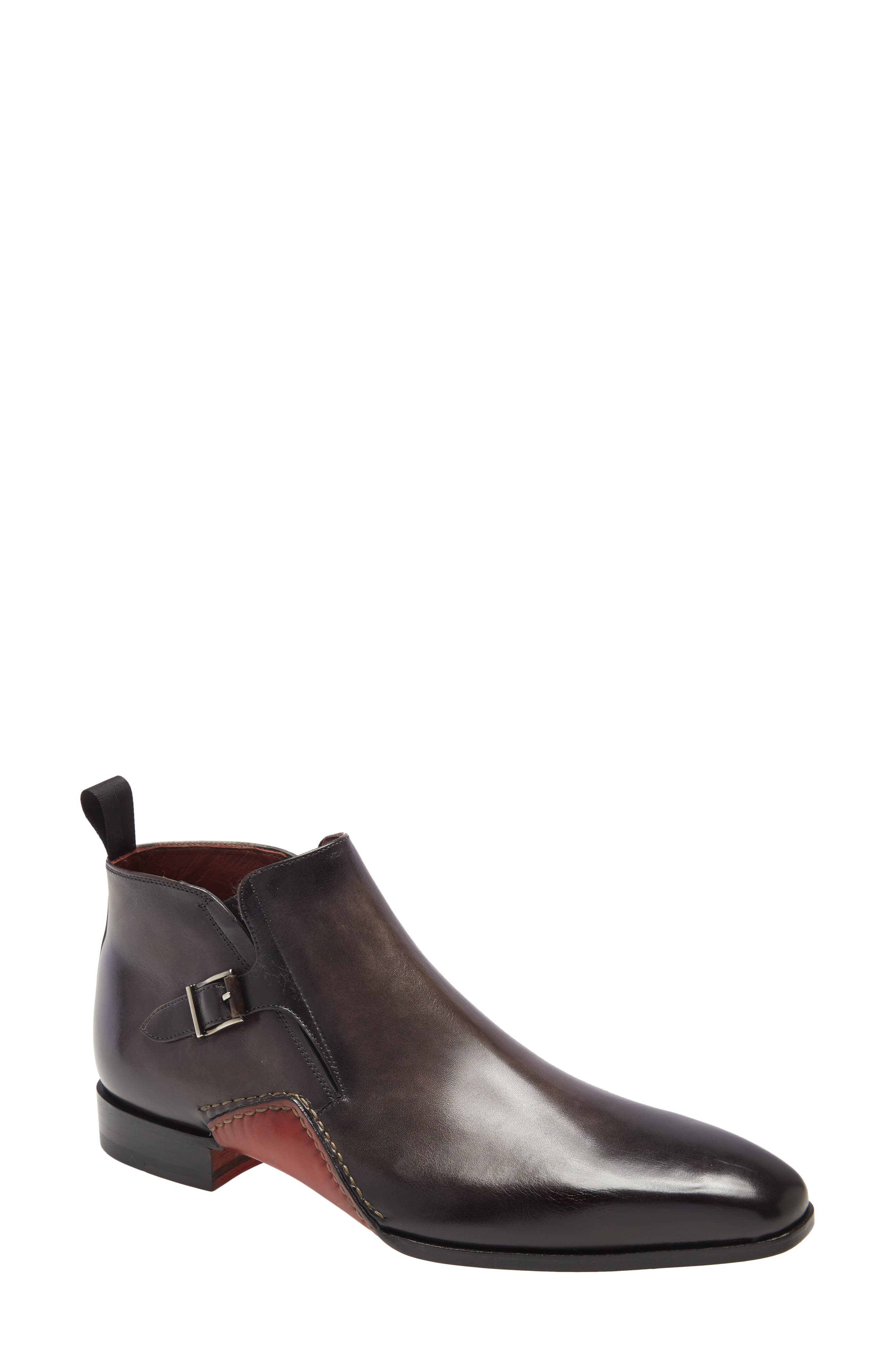 A full leather lining ensures breathable comfort in a handsome Spanish-made Chelsea boot built from rich Italian leather. Style Name: Magnanni Lucero Mid Chelsea Boot (Men). Style Number: 6068423. Available in stores.