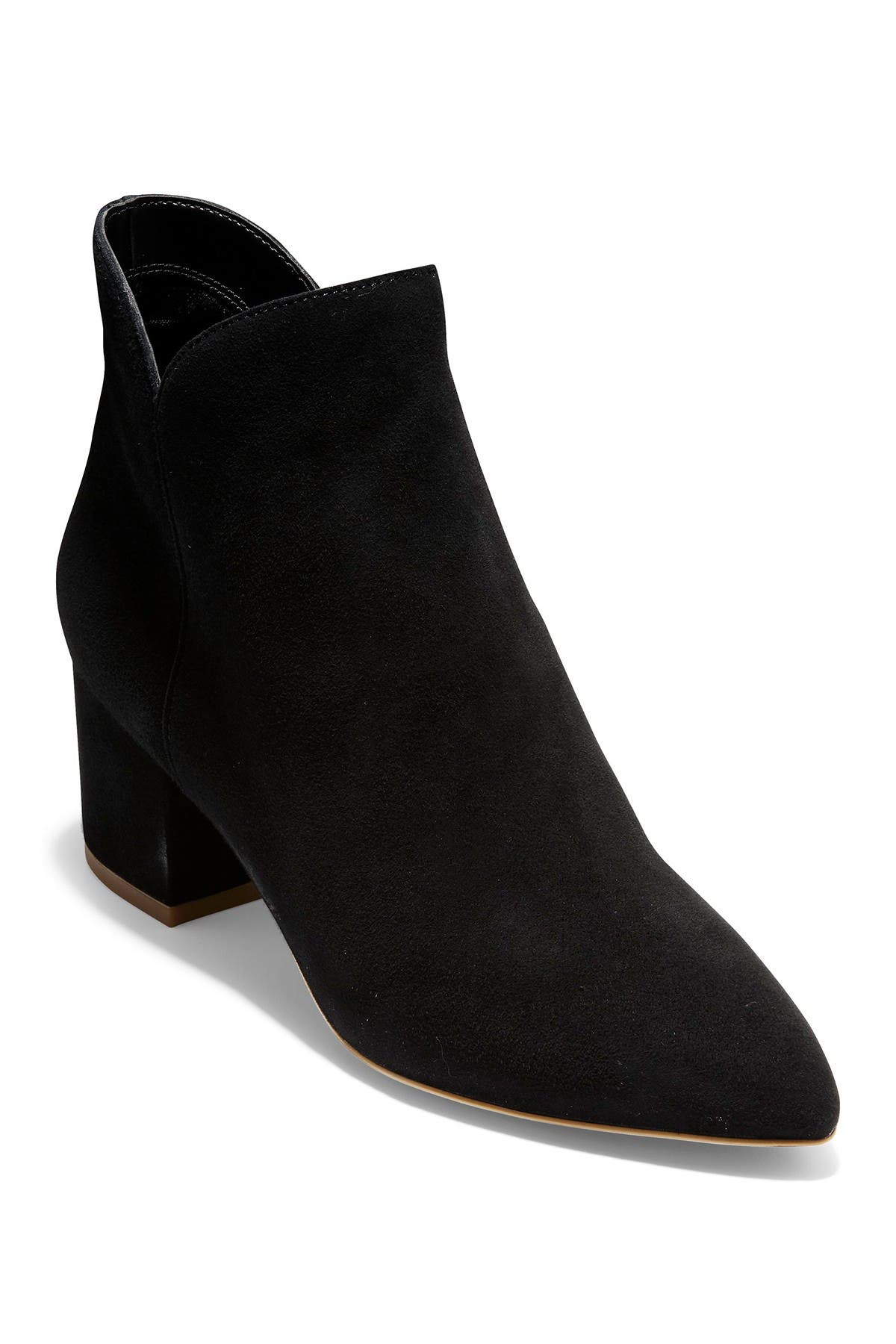 Elyse Suede Pointed Toe Ankle Boot