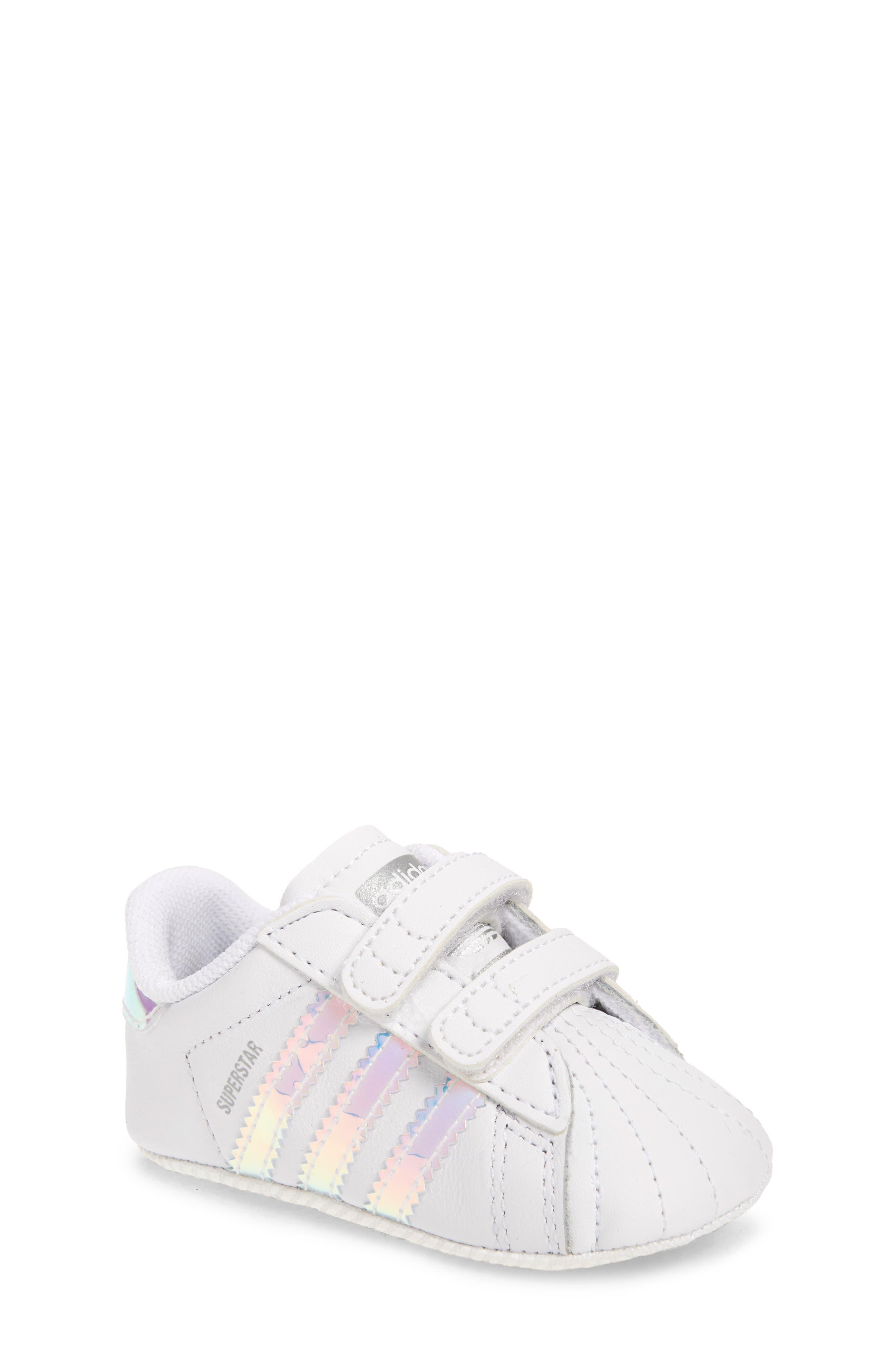 adidas Superstar Crib Sneaker (Baby