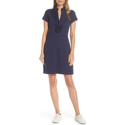 Lilly Pulitzer Clary Pique Polo Dress, Blue