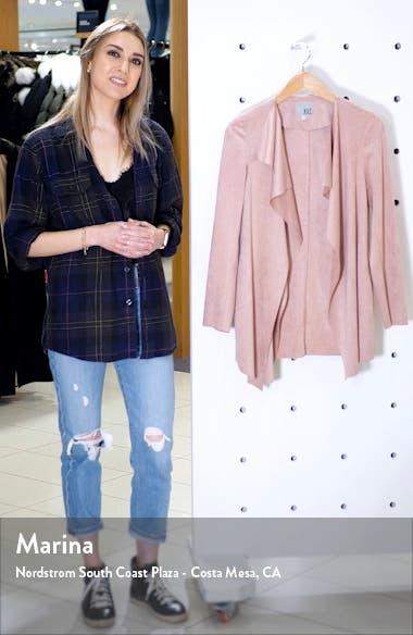 Dianne Faux Suede Jacket, sales video thumbnail