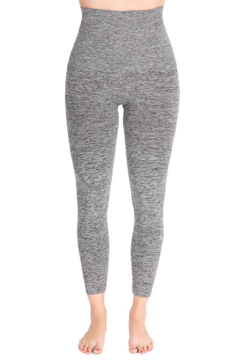BELLY BANDIT<SUP>®</SUP> Mother Tucker<sup>®</sup> Compression Leggings, Main, color, DARK HEATHER GREY