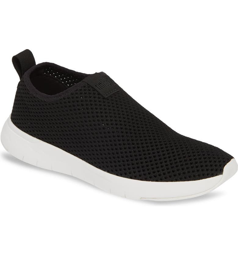 FITFLOP Airmesh Slip-On Sneaker, Main, color, 001