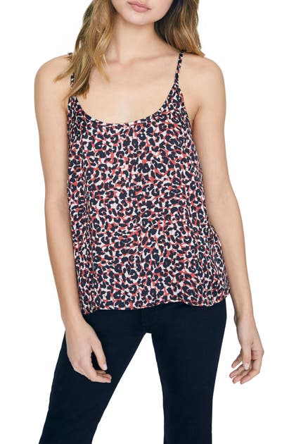Sanctuary Tops ONE LOVE ANIMAL PRINT LAYERING CAMISOLE