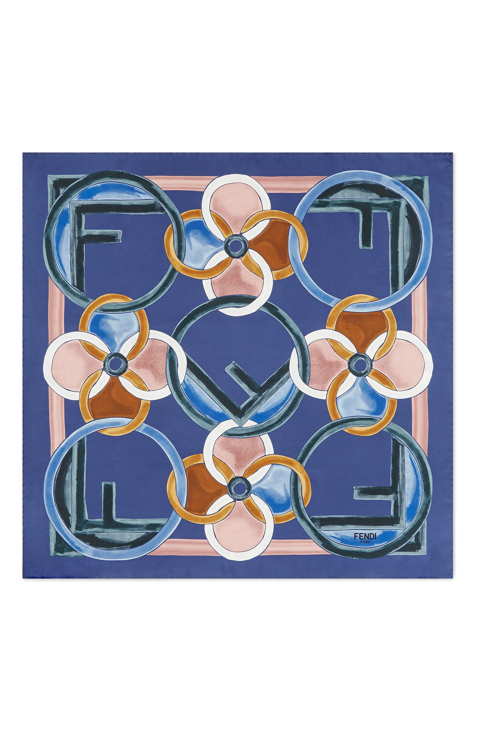 50a774670b Fendi F Is For Fendi Silk Scarf | Nordstrom