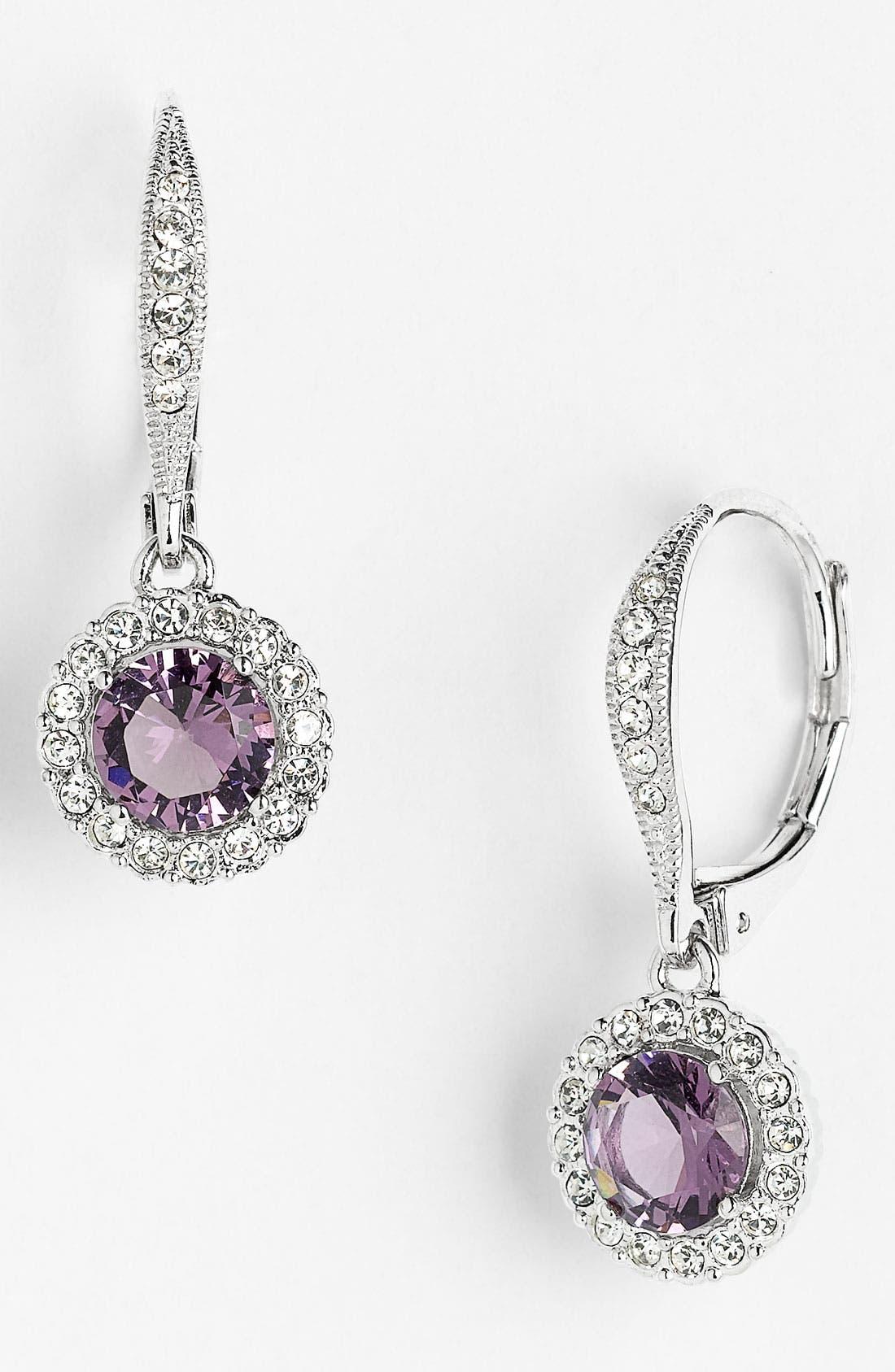 ,                             Cubic Zirconia Drop Earrings,                             Main thumbnail 20, color,                             500