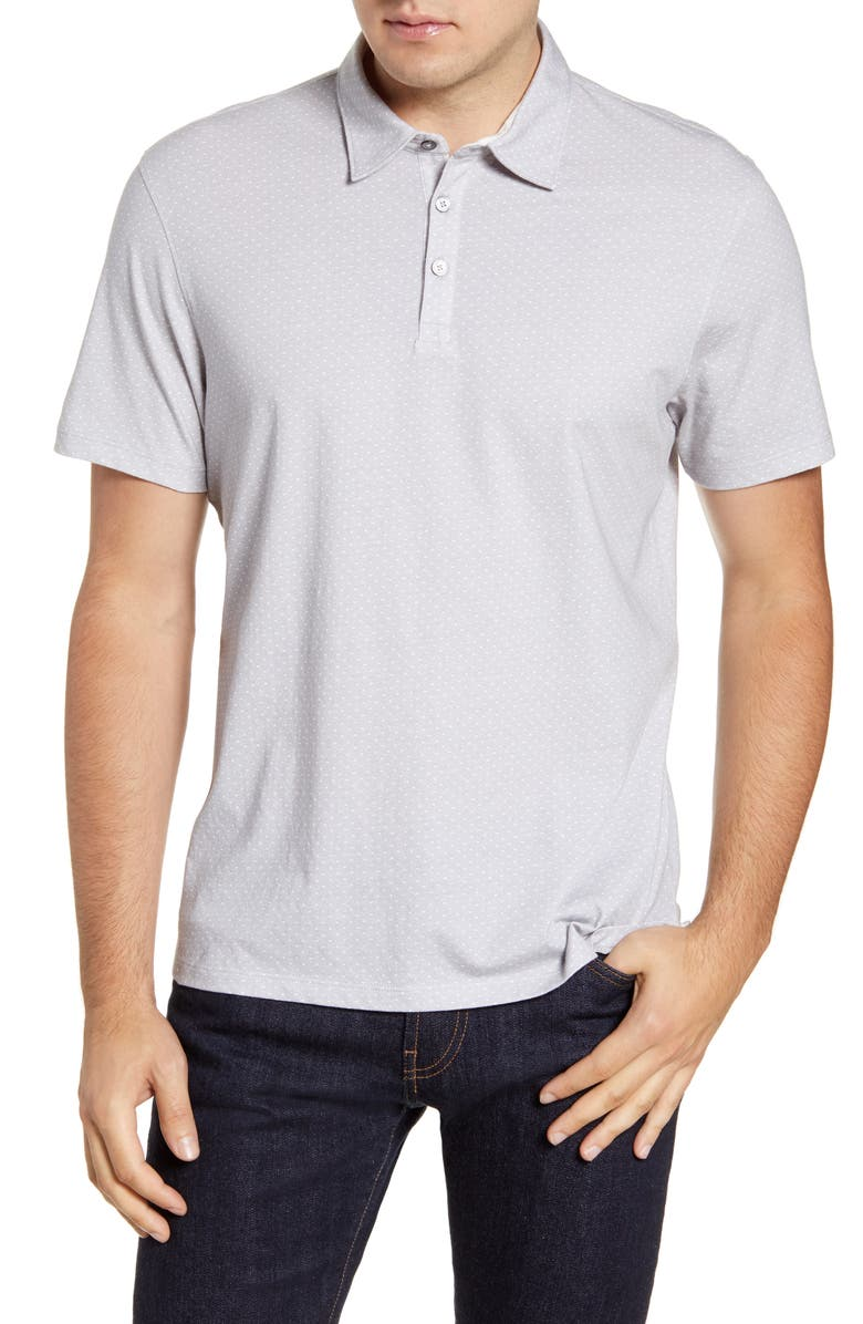 ZACHARY PRELL Southold Regular Fit Microdot Polo, Main, color, 020