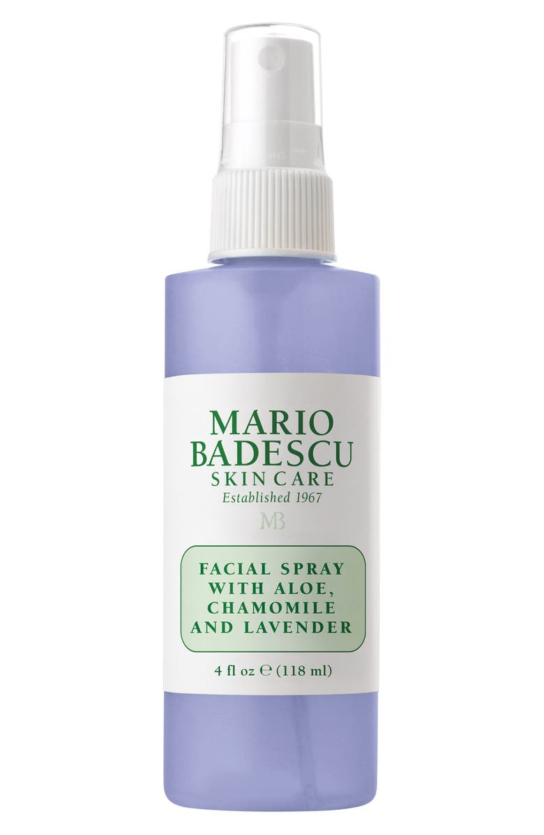 MARIO BADESCU Facial Spray with Aloe, Chamomile & Lavender, Main, color, NO COLOR