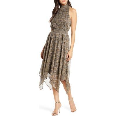 Sam Edelman Handkerchief Hem Dress, Brown