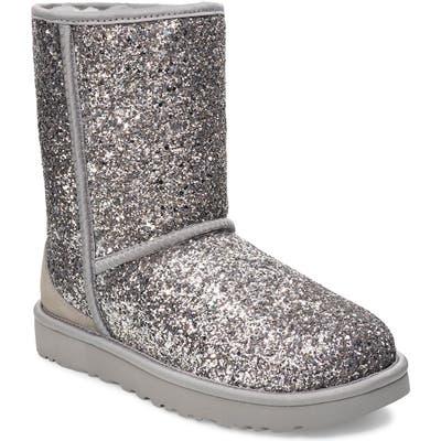UGG Classic Cosmos Short Boot, Metallic