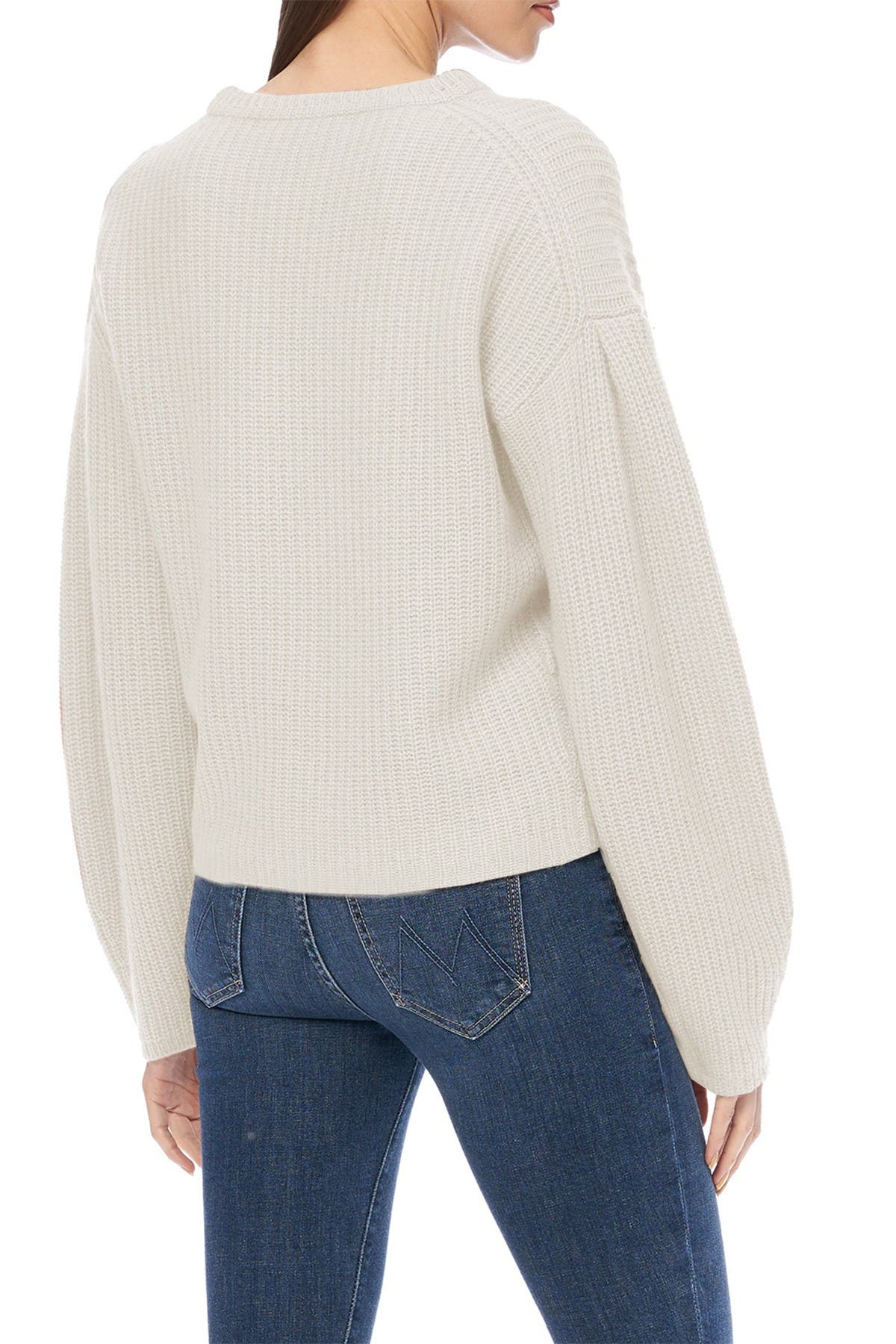 Image of 360 Cashmere Ambrose Crew Neck Sweater