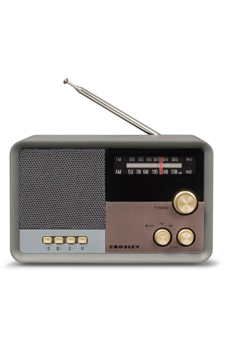 CROSLEY RADIO Tribute Radio with Bluetooth<sup>®</sup>, Main, color, 020