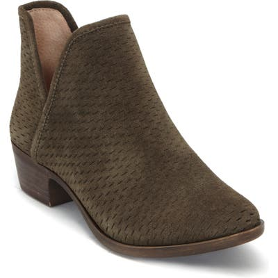 Lucky Brand Baley Bootie- Green