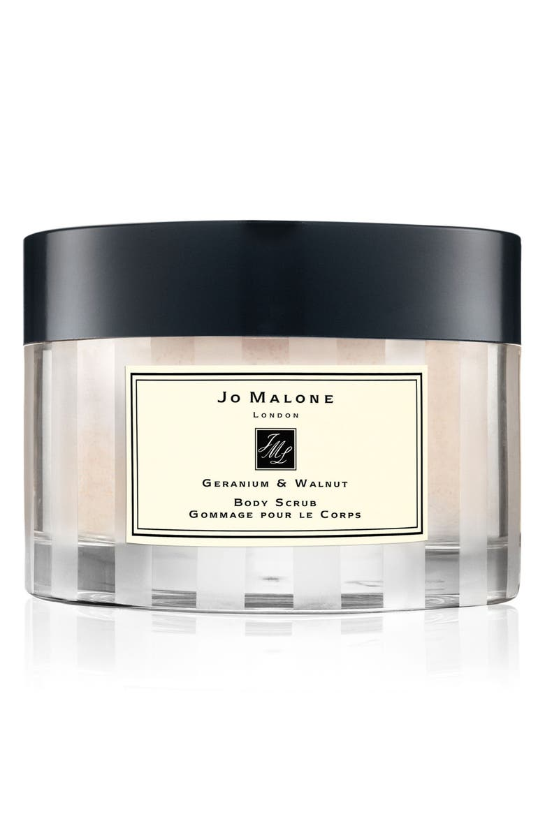 JO MALONE LONDON<SUP>™</SUP> Geranium & Walnut Body Scrub, Main, color, NO COLOR
