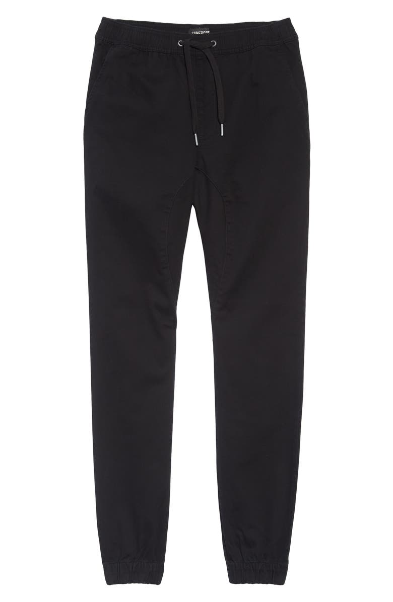 ZANEROBE Sureshot Skinny Fit Jogger Chinos, Main, color, BLACK