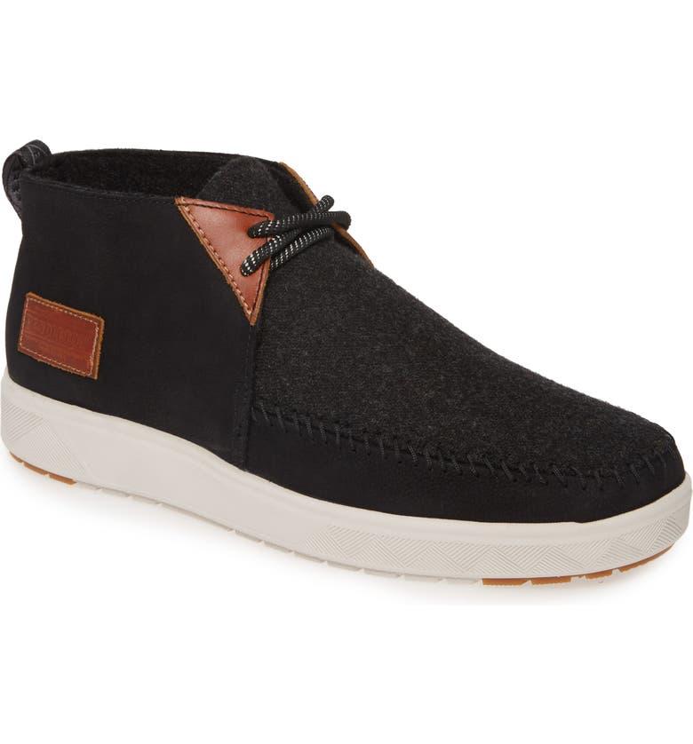 PENDLETON La Brea Mid Sneaker, Main, color, BLACK