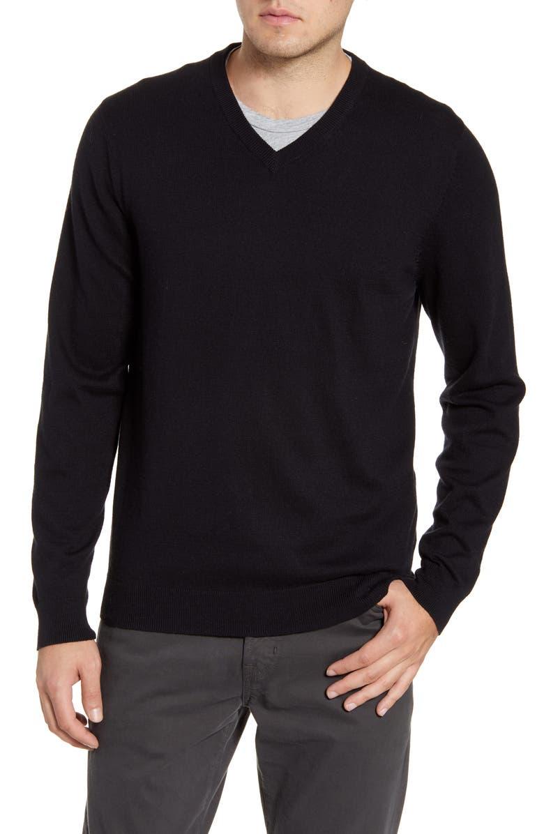 34f1f0b7d Cotton & Cashmere V-Neck Sweater