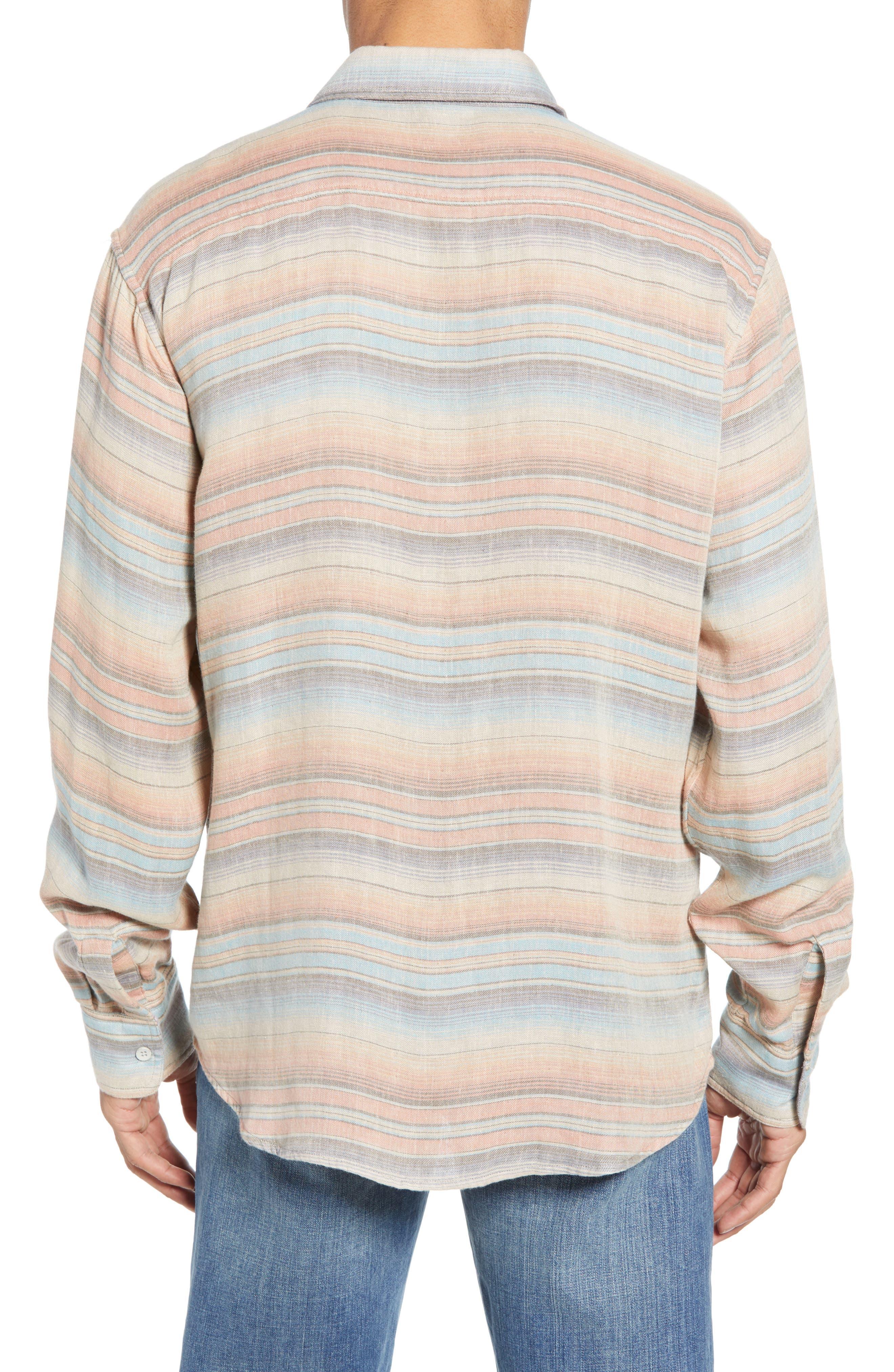 ,                             Belmar Regular Fit Reversible Shirt,                             Alternate thumbnail 4, color,                             EVENING PLAYA