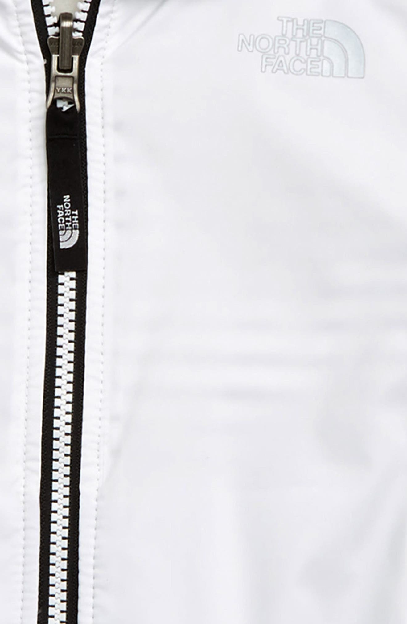 ,                             Breezeway Reversible Water Repellent Windproof Jacket,                             Alternate thumbnail 3, color,                             TNF WHITE