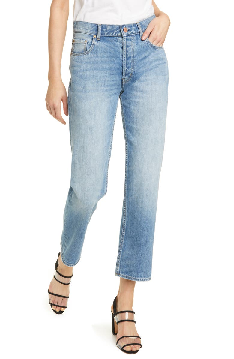 LA VIE REBECCA TAYLOR Sylvie High Waist Jeans, Main, color, 400