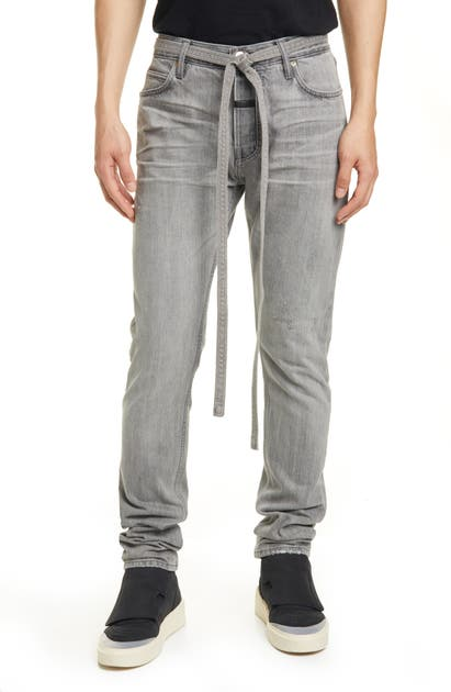 Fear Of God Jeans TIE WAIST SLIM FIT JEANS