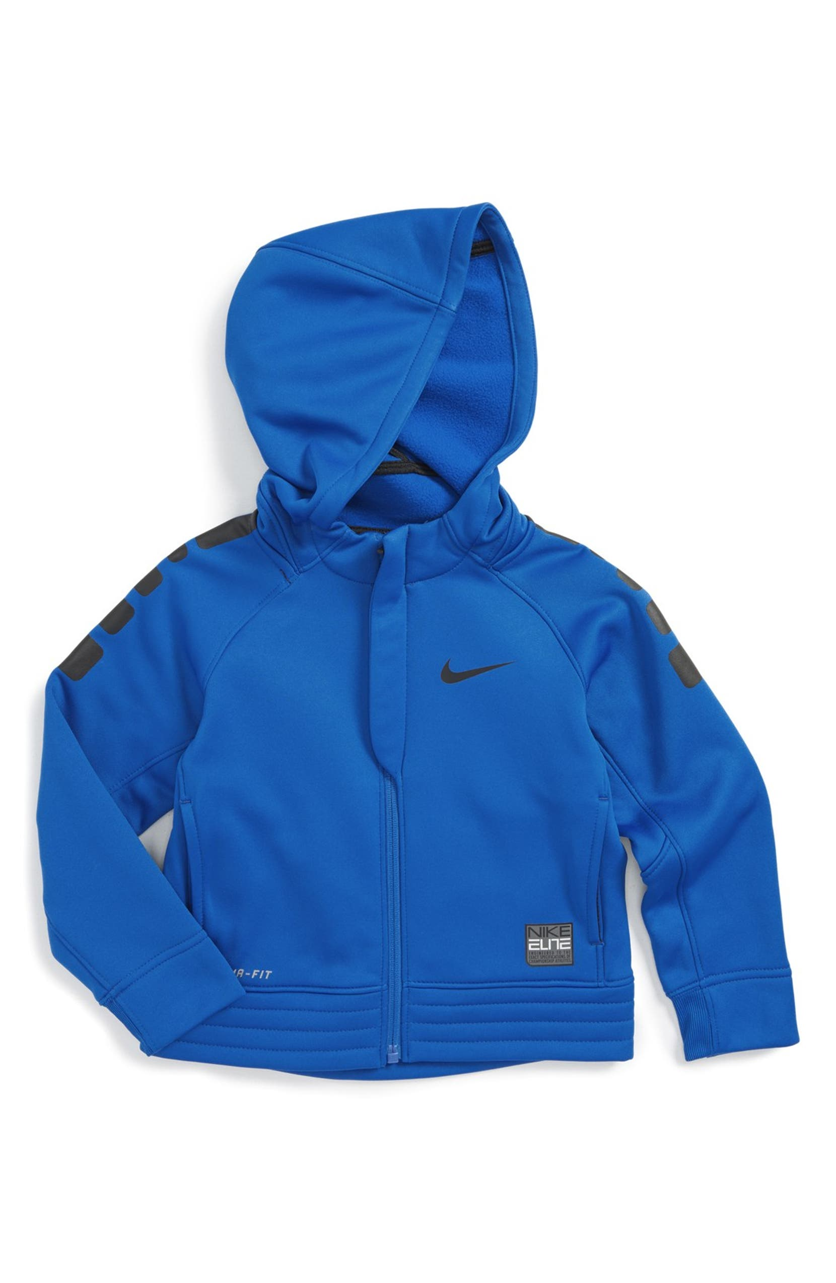 size 40 wholesale price sports shoes Nike 'Elite Stripe' Therma-FIT Hoodie (Toddler Boys & Little ...