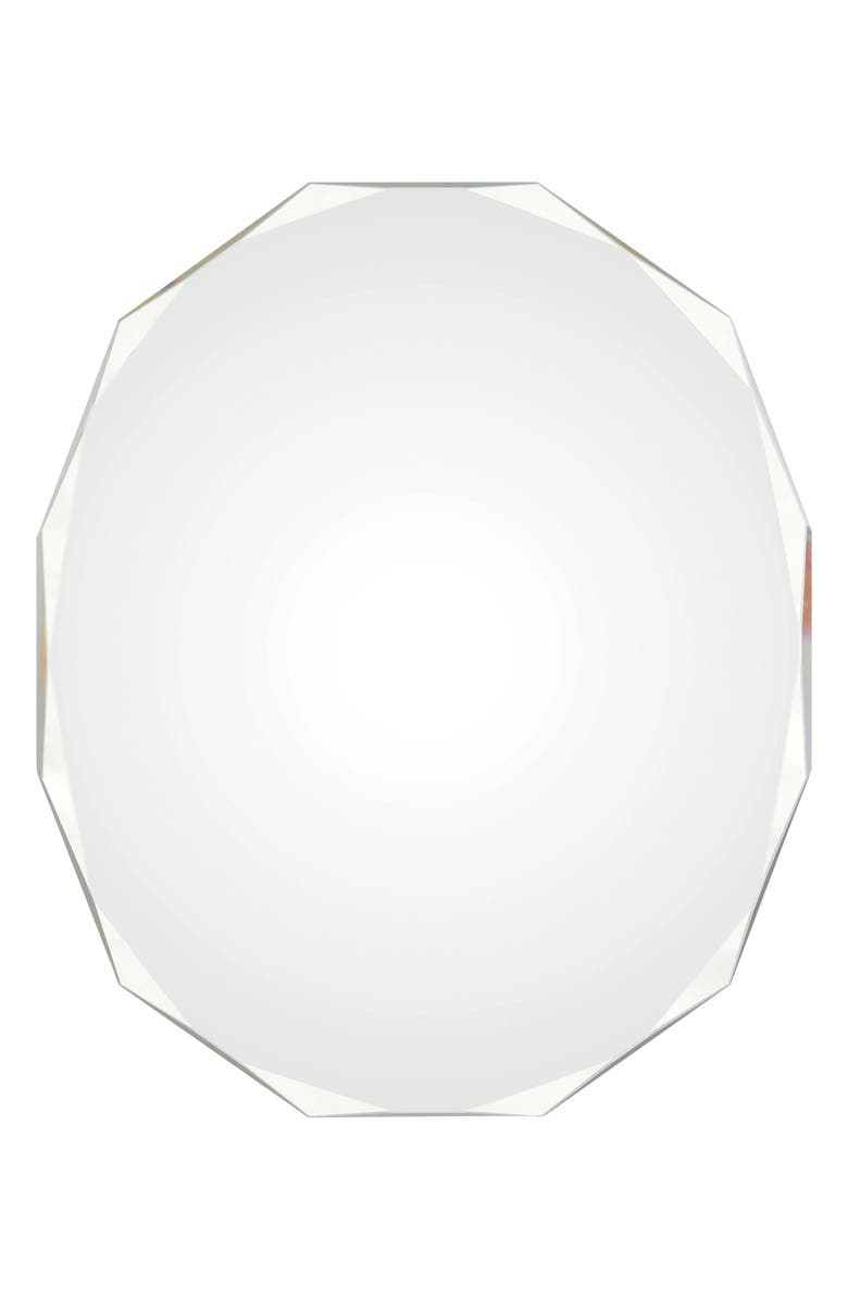 RENWIL Astor Round Mirror, Main, color, CLEAR