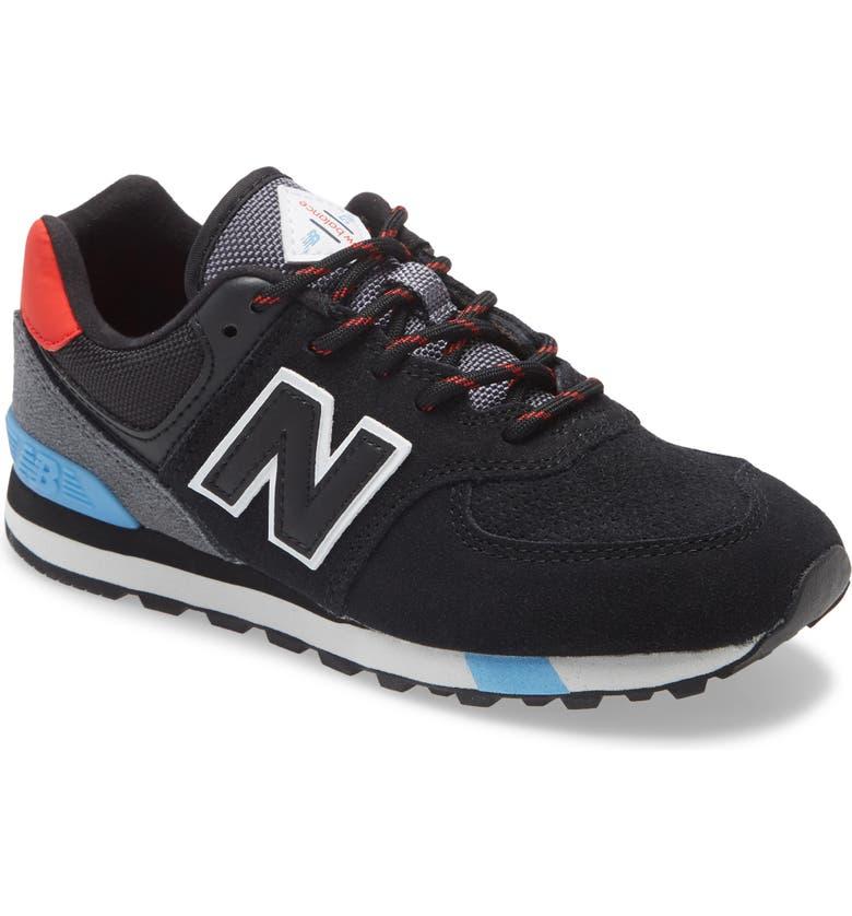 NEW BALANCE 574 Classic Sneaker, Main, color, BLACK